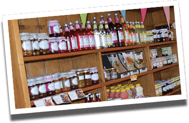 A wide array of local produce available to purchase from Lewis's Farm Shop