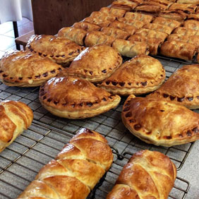 Sausage rolls and pasties