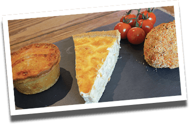 Bakery goods for sale at Lewis's Farm Shop in Wrexham